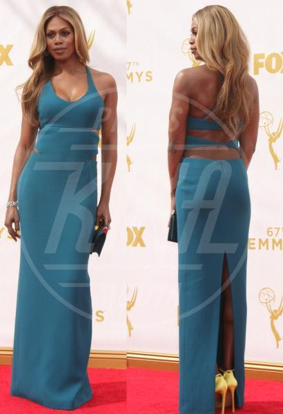 Laverne Cox - 21-09-2015 - Emmy Awards 2015: le dive viste fronte e retro