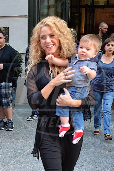 Sasha Piquè, Shakira - New York - 24-09-2015 - I vip come polli da spennare: guarda quante star derubate