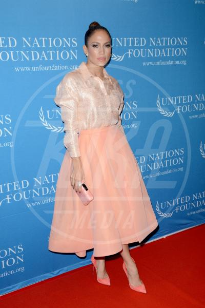 Jennifer Lopez - Manhattan - 26-09-2015 - Le celebrity? Tutte romantiche belle in rosa!