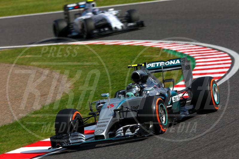 Nico Rosberg - Suzuka - 27-09-2015 - Lewis Hamilton vince a Suzuka ed eguaglia Senna