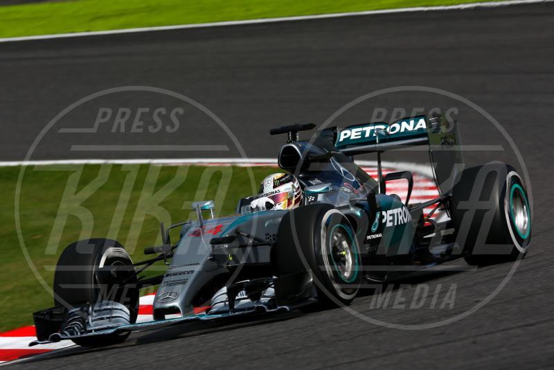 Lewis Hamilton - Suzuka - 27-09-2015 - Lewis Hamilton vince a Suzuka ed eguaglia Senna