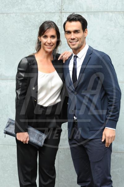 Fabio Fognini, Flavia Pennetta - Milano - 28-09-2015 - Flavia Pennetta e Fabio Fognini hanno detto sì