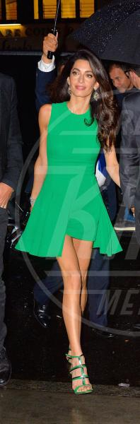 Amal Alamuddin, George Clooney - New York - 29-09-2015 - Volete essere trendy? Allora dovete essere Verde Greenery!