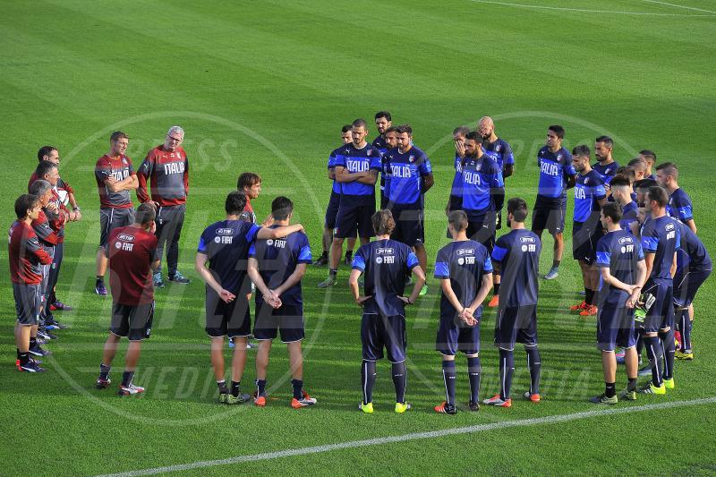 Italia - Coverciano - 05-10-2015 - Euro 2015: Conte su Balotelli:
