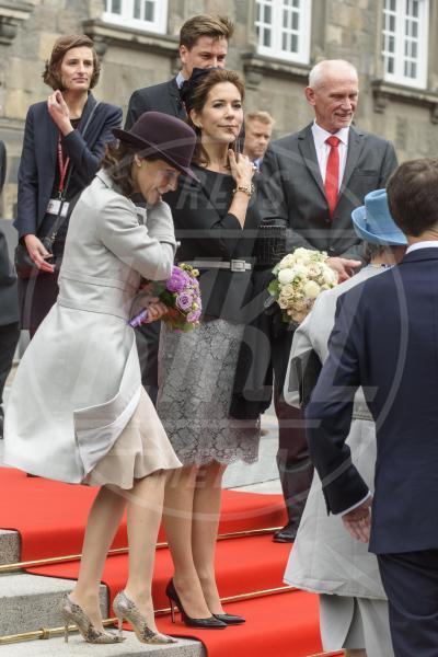 Principessa Mary di Danimarca, Principessa Marie di Danimarca - Copenhagen - 06-10-2015 - Star come noi: mamma che capitombolo!