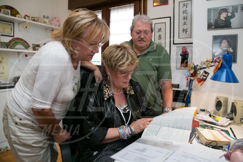 Agnese Tosetto, Ferruccio Donato, Adriana Tosetto - Udine - 15-09-2015 - Adriana Tosetto, 64 anni e... tanta voglia di studiare