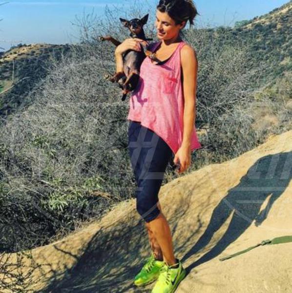 Elisabetta Canalis - Los Angeles - 09-10-2015 - Star come noi: quando i vip vanno di corsa