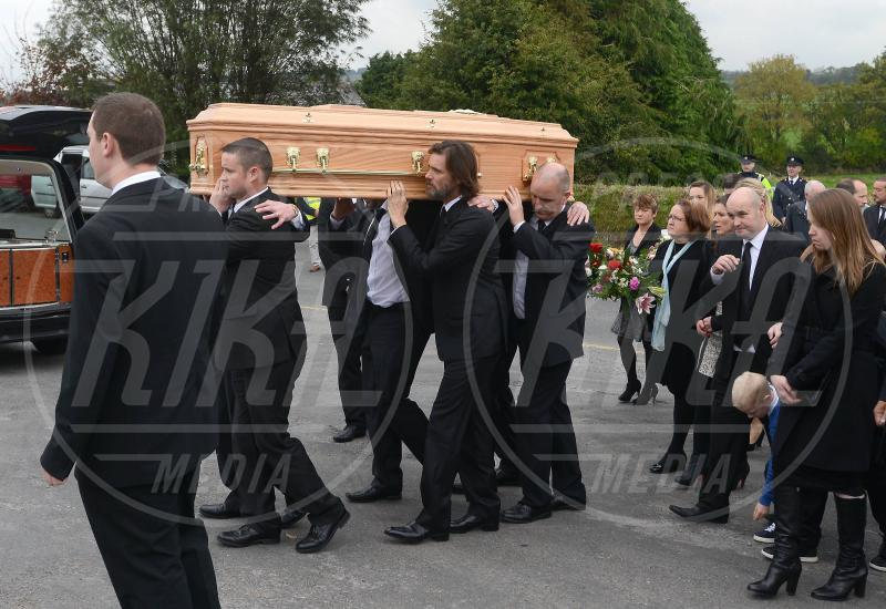 mourners at Cathriona White funeral, Jim Carrey &amp, Jim Carrey - Cappawhite - 10-10-2015 -