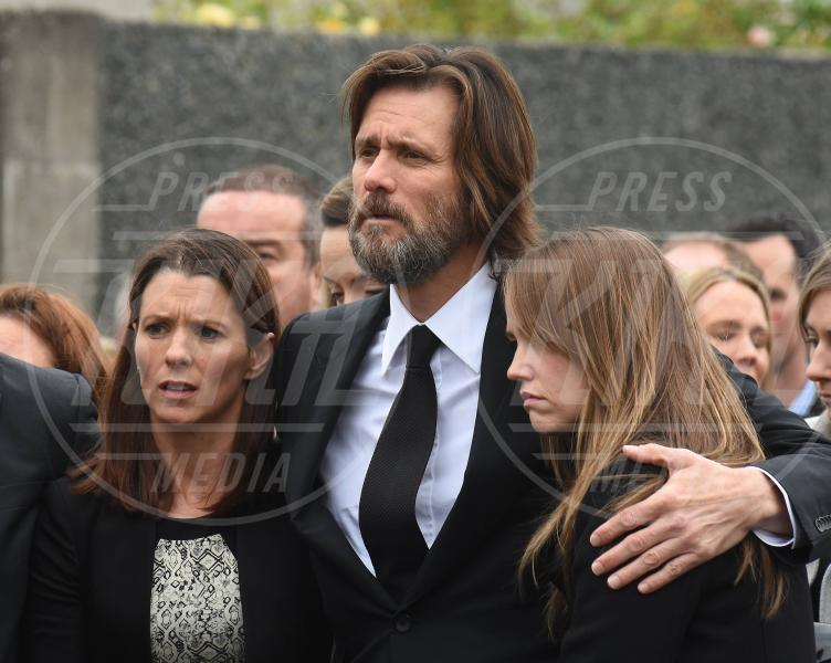 Jane Carrey (daughter), Lisa White (sister), Jim Carrey - Dublino - 10-10-2015 -