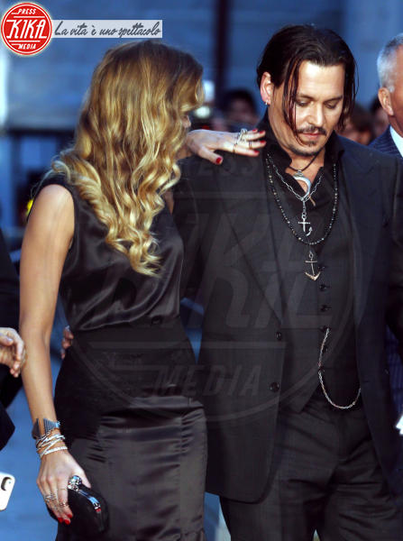 Amber Heard, Johnny Depp - Londra - 11-10-2015 - Johnny Depp sarà protagonista de L'Uomo Invisibile