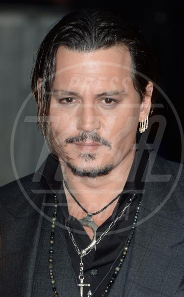 Johnny Depp - Londra - 11-10-2015 - Johnny Depp sarà protagonista de L'Uomo Invisibile