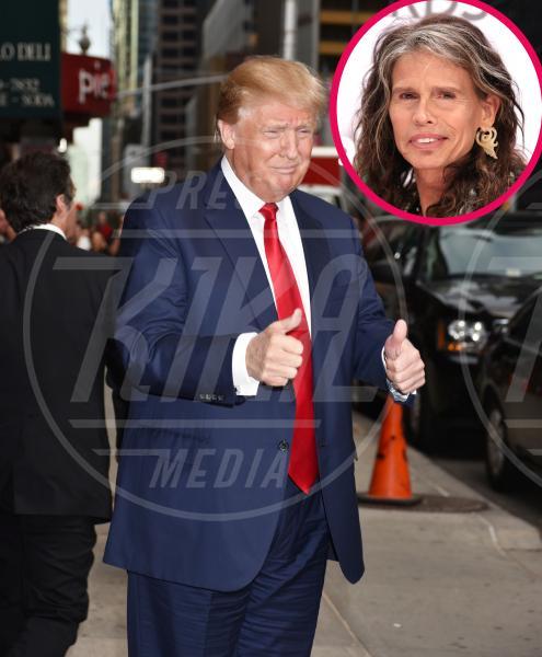 Donald Trump, Steven Tyler - New York - 22-09-2015 - Steven Tyler e gli altri: giù le mani dalla mia musica!