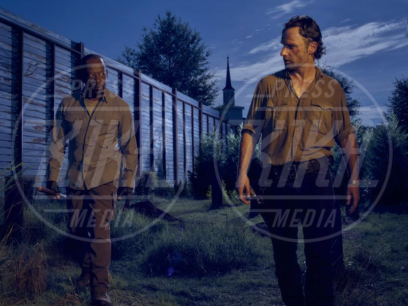 The Walking Dead 6, Andrew Lincoln, Lennie James - 28-06-2015 - The Walking Dead: è in arrivo un nuovo cattivo...