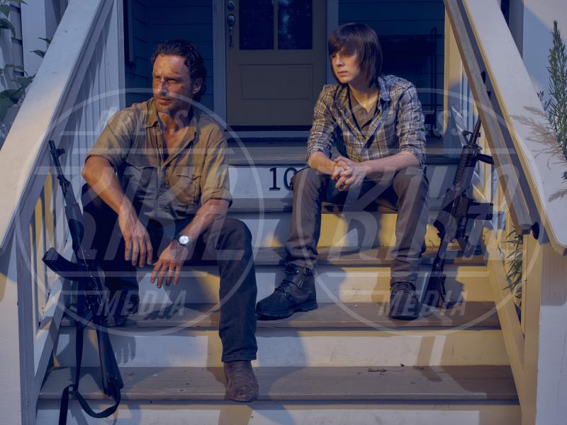 Chandler Riggs, The Walking Dead 6, Andrew Lincoln - 28-06-2015 - The Walking Dead 6, le anticipazioni dell'ultimo atto
