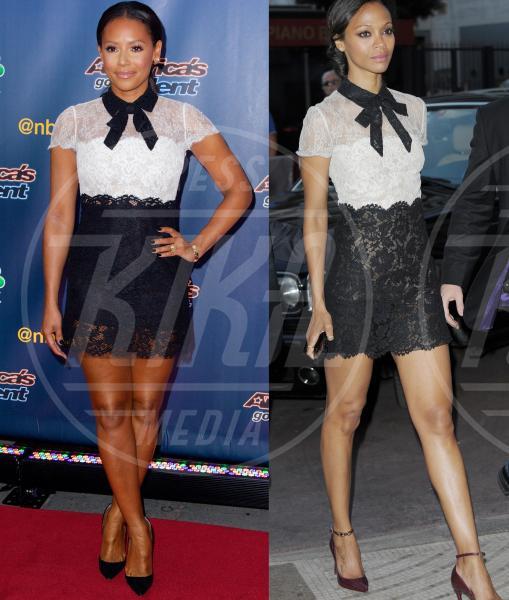 Mel B, Zoe Saldana - 12-10-2015 - Chi lo indossa meglio: Mel B o Zoe Saldana?