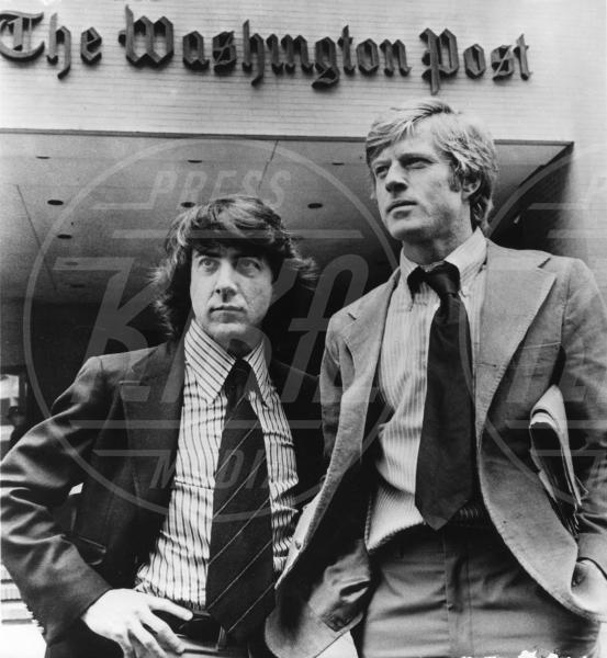 Tutti gli uomini del Presidente, Robert Redford, Dustin Hoffman - Washington - 05-08-2013 - Tritatutto molestie sessuali: accusato anche Dustin Hoffman