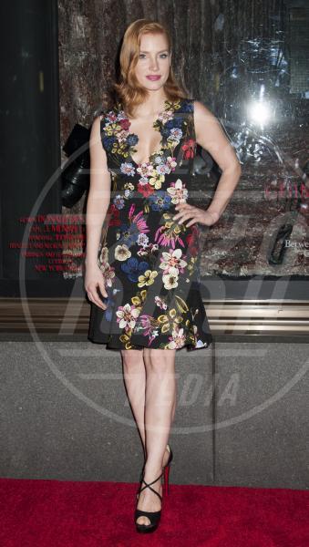 Jessica Chastain - New York - 13-10-2015 - Le celebrity? Sul red carpet e fuori sono regine di... fiori!