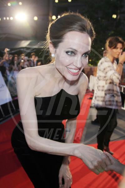 Angelina Jolie - Tokyo - 23-06-2014 - Angelina Jolie cuoca d'insetti per la troupe della BBC