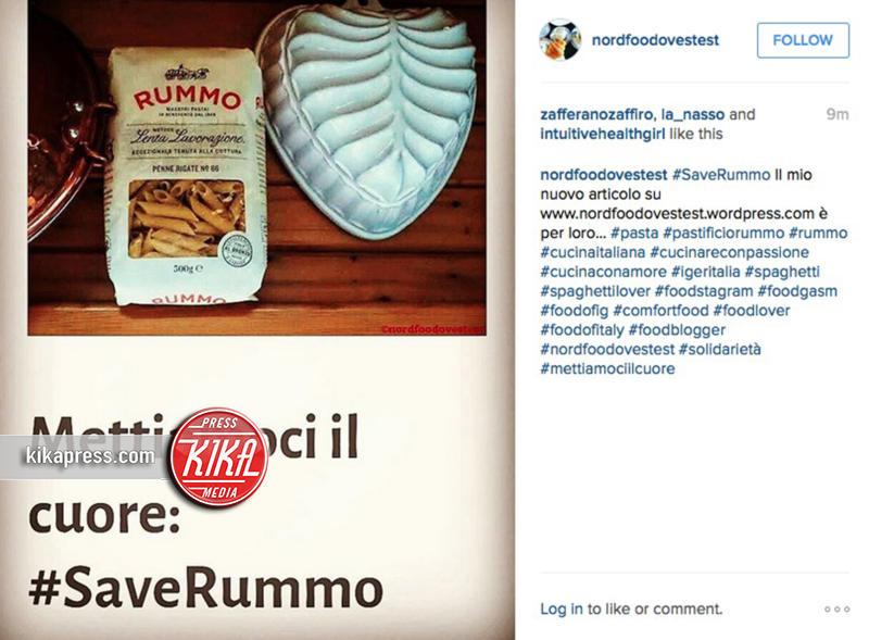 Save Rummo - 20-10-2015 - #SaveRummo, la campagna social per il pastificio