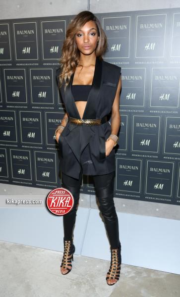 Jourdan Dunn - New York - 21-10-2015 - Gigi Hadid è una dama in nero al lancio di Balmain per H&M