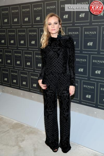 Diane Kruger - New York - 20-10-2015 - Gigi Hadid è una dama in nero al lancio di Balmain per H&M