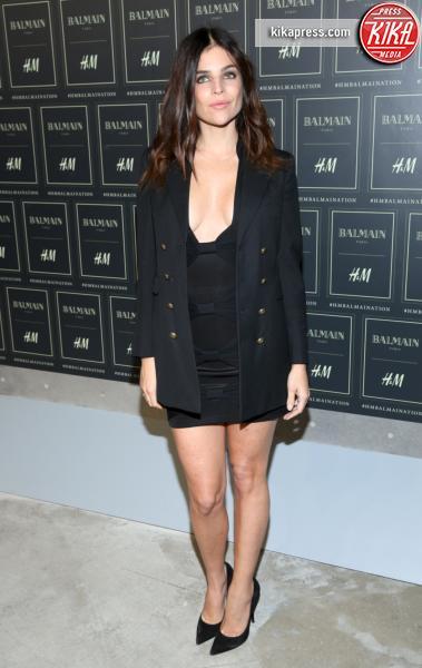 Julia Restoin Roitfeld - New York - 20-10-2015 - Gigi Hadid è una dama in nero al lancio di Balmain per H&M