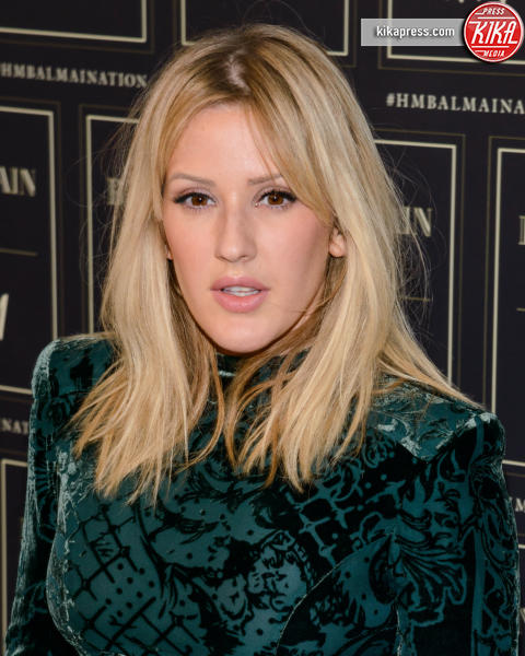 Ellie Goulding - New York - 21-10-2015 - Gigi Hadid è una dama in nero al lancio di Balmain per H&M