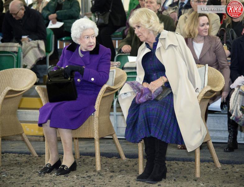 Regina Elisabetta II, Camilla Parker Bowles - Londra - 21-10-2015 -