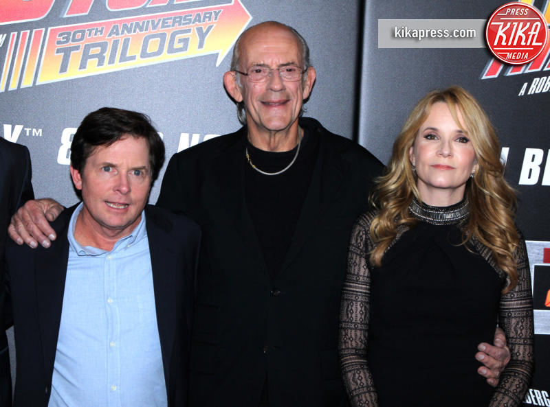Michael J. Fox, Christopher Lloyd, Lea Thompson - New York - 21-10-2015 - Ritorno al futuro arriva a 4? Gli attori ieri e oggi
