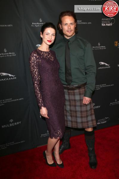Caitriona Balfe, Sam Heughan - Los Angeles - 11-01-2014 - Chi lo indossa meglio: Kate Middleton o Caitriona Balfe?
