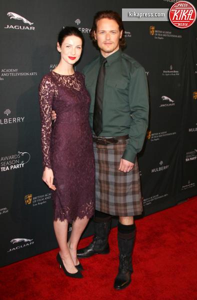 Caitriona Balfe, Sam Heughan - Los Angeles - 12-01-2014 - Chi lo indossa meglio: Kate Middleton o Caitriona Balfe?