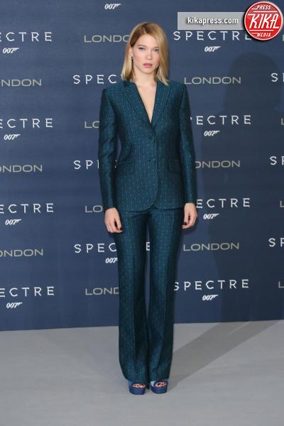 Lea Seydoux - Londra - 22-10-2015 - Bellucci, Harris e Seydoux: ecco l'evoluzione delle Bond girl