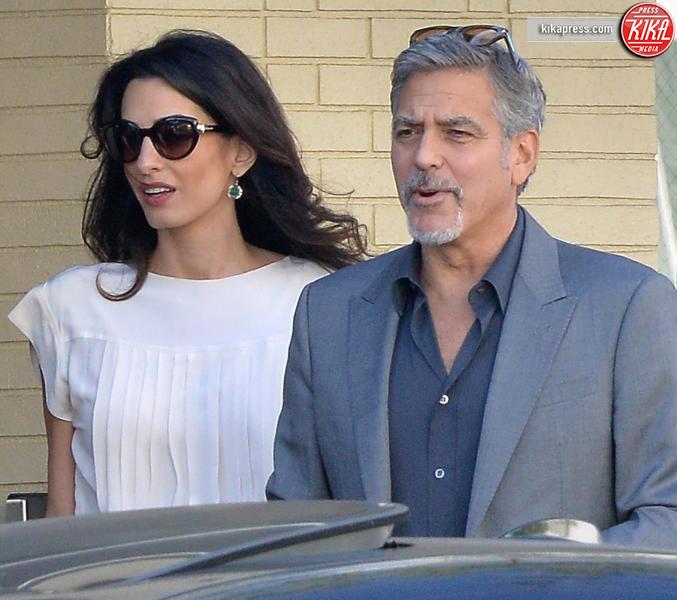 Amal Alamuddin, George Clooney - Beverly Hills - 25-10-2015 - Amal, ma sei incinta di due gemelli oppure no?