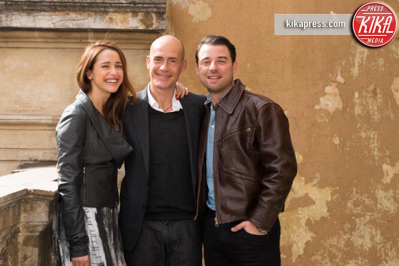 Daniele Foresi, Gianmarco Tognazzi, Eleonora Sergio - Roma - 26-10-2015 - Carlotta Natoli è pronta a risolvere I Misteri di Laura