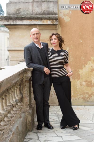 Carlotta Natoli, Gianmarco Tognazzi - Roma - 26-10-2015 - Carlotta Natoli è pronta a risolvere I Misteri di Laura