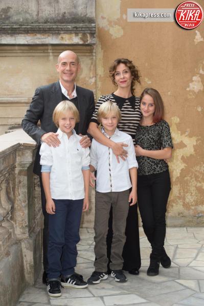 Giulia Salerno, Carlotta Natoli, Gianmarco Tognazzi - Roma - 26-10-2015 - Carlotta Natoli è pronta a risolvere I Misteri di Laura