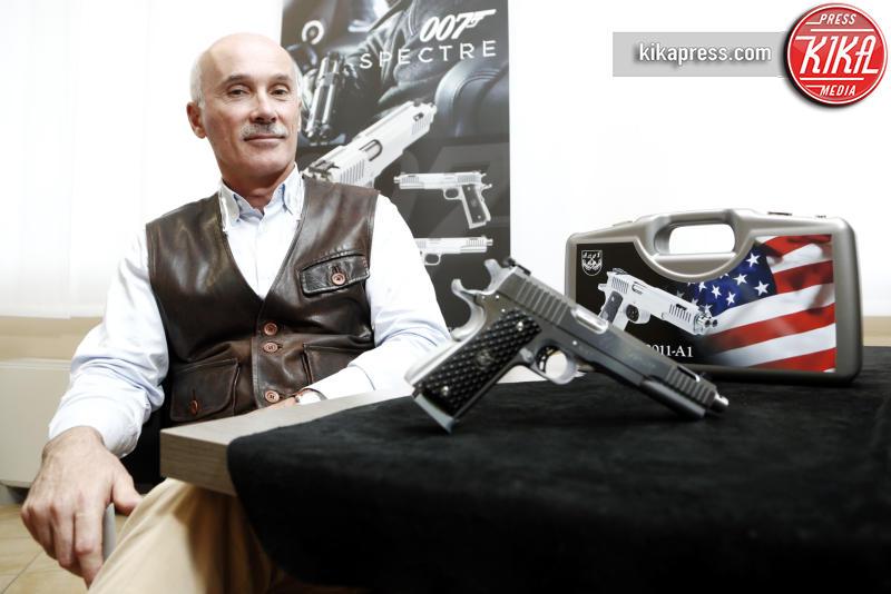 """Nicola Bandini - Gardone Val Trompia - 09-10-2015 - Nicola Bandini: """"Il mio gioiello che ha conquistato 007"""""""