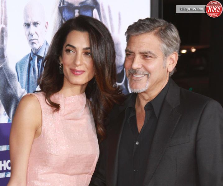 Amal Alamuddin, George Clooney - Hollywood - 26-10-2015 - Rimbalzati come gli ubriaconi del paese, ma sono vip
