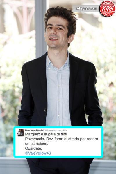 Francesco Mandelli - Milano - 13-03-2015 - Caso Rossi-Marquez, tutti i cinguettii vip a favore di #Vale46