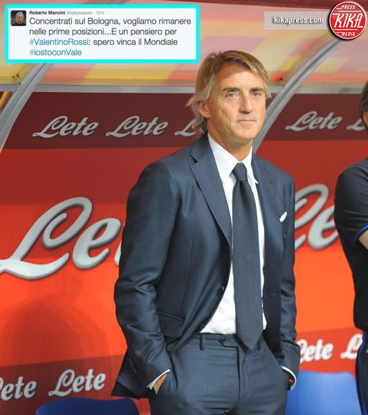 Roberto Mancini - Milano - 23-08-2015 - Caso Rossi-Marquez, tutti i cinguettii vip a favore di #Vale46
