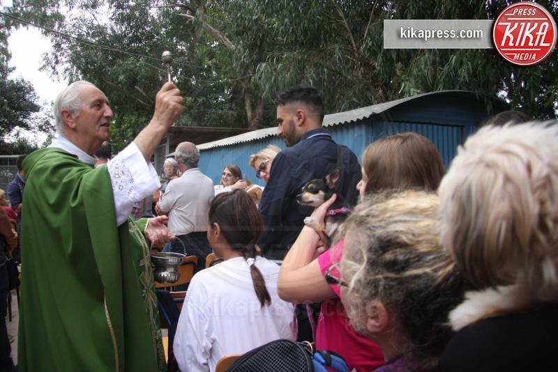 Don Gino Lo Galbo - Palermo - 04-10-2015 - Don Gino Lo Galbo, il parroco che benedice gli animali