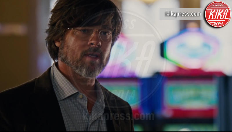 Brad Pitt - Hollywood - 28-10-2015 - Poker di stelle per La Grande Scommessa