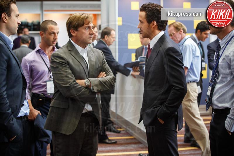 Steve Carrell, Ryan Gosling - Hollywood - 28-10-2015 - Poker di stelle per La Grande Scommessa