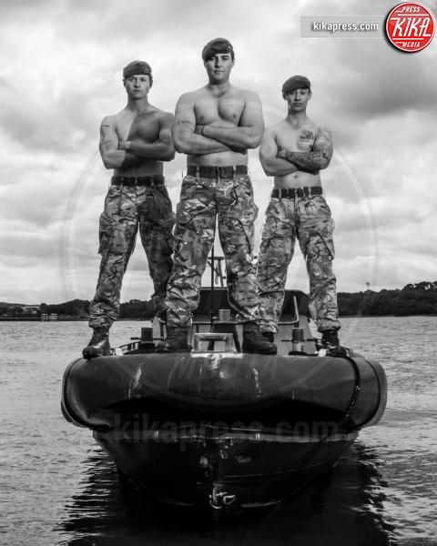 Calendario Go Commando 2016 - Londra - 29-07-2015 - Go Commando 2016: militari nudi per beneficenza