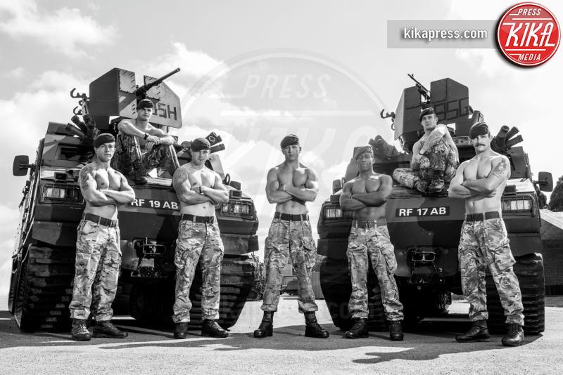 Calendario Go Commando 2016 - Londra - 08-09-2015 - Go Commando 2016: militari nudi per beneficenza
