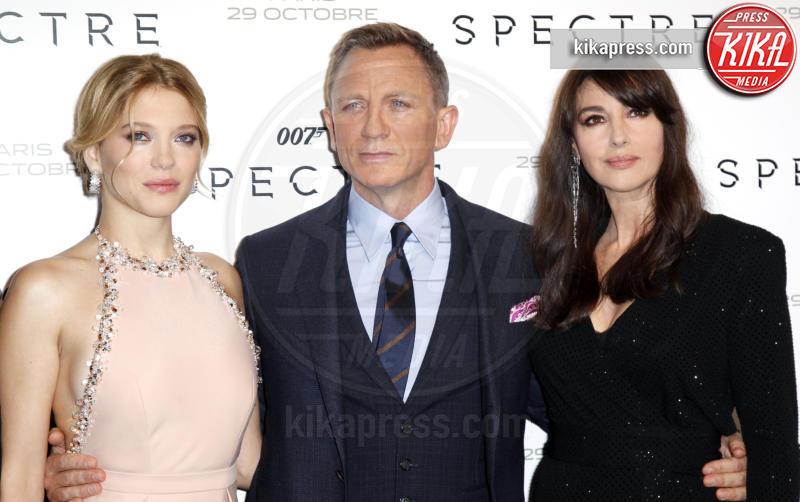 Lea Seydoux, Daniel Craig, Monica Bellucci - Parigi - 29-10-2015 - Colpo di scena 007, Danny Boyle lascia la regia del nuovo film