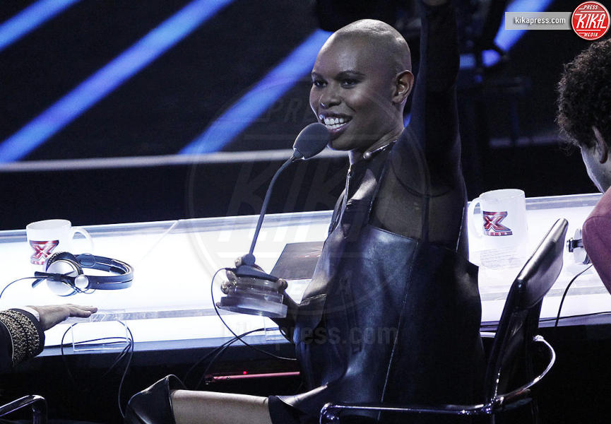 Elio, Mika, Skin - Milano - 30-10-2015 - X Factor: Mika lascia il ruolo di giudice