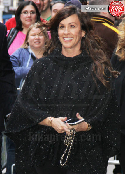 Alanis Morissette - New York - 01-11-2015 - Alanis Morissette è diventata mamma per la terza volta
