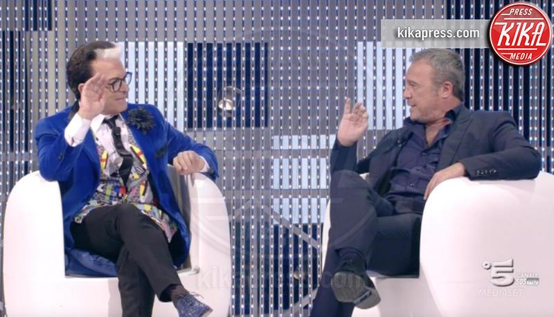 Cristiano Malgioglio, Claudio Amendola - 03-11-2015 - GFVip2: perché Cristiano Malgioglio lo ha baciato sulla bocca
