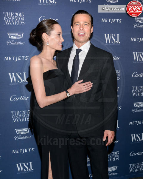 Angelina Jolie, Brad Pitt - New York - 05-11-2015 - Anjelina Jolie presto potrebbe salire sull'Orient Express...
